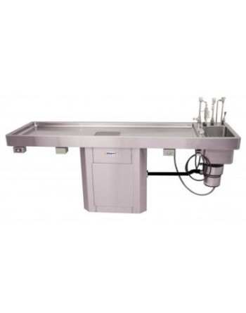 Pedestal Autopsy Table with...